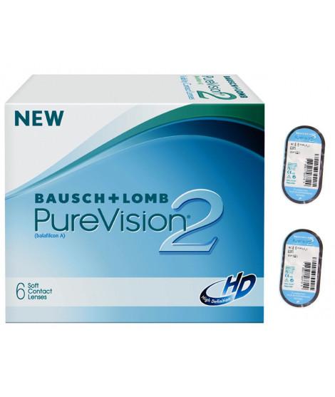 PureVision 2HD 6 szt. + 2szt soczewek w prezencie